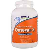 Omega-3 Molecularly Distilled (500капс)